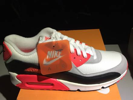 NIKE AIR MAX 90 INFRARED OG 2014 DS - photo 1/5
