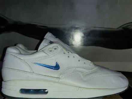 NIKE AIR MAX 1 JEWEL CAROLINA 2000 US7.5 - photo 1/8