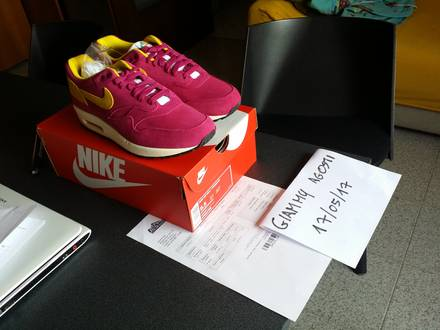 Nike air max 1 premium dynamic berry - photo 1/5