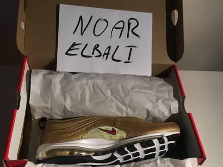 Nike <strong>Air</strong> <strong>Max</strong> <strong>97</strong> Metallic/<strong>Gold</strong> US8,5-EU43 - photo 1/5