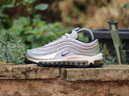 Nike <strong>Air</strong> <strong>Max</strong> <strong>97</strong> <strong>Silver</strong> Purple OG Vintage - photo 1/5