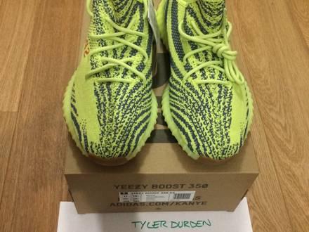 Adidas Yeezy Boost 350 V2 Semi Frozen Yellow US11 - photo 1/8