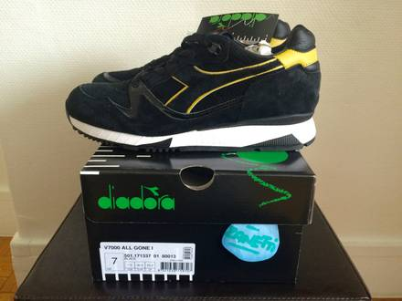 """<strong>Diadora</strong> V7000 x La MJC """"ALL GONE 2006"""" DS - photo 1/6"""