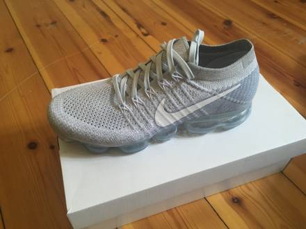 Nike Air <strong>VaporMax</strong> Flyknit pure platinum - photo 1/5