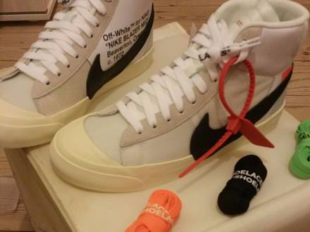 "Nike blazer ""the ten"" by Virgil Abloh - photo 1/6"