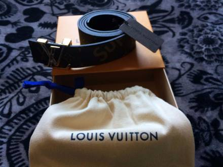 Supreme X Louis Vuitton belt - photo 1/5