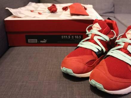"""Puma X Sneaker Freaker Blaze Of Glory """"Bloodbath"""" - photo 1/5"""