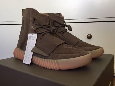 adidas Yeezy Boost 750 Light Brown Gum Chocolate US 10.5 - photo 1/6