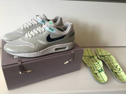 Nike Air Max 1 x Clot 'Kiss Of Death II 2' With Special Box - Like New - photo 1/5