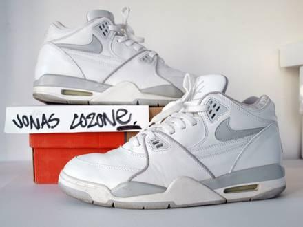 Nike Air Flight '89 from 1999 / force 180 jordan v iv vi iii 5 6 4 3 bred cement - photo 1/7