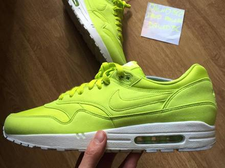 Nike Air Max 1 Ripstop Atomic Green 'neon' - photo 1/6