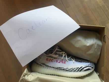 Adidas Yeezy Boost 350 v2 zebra size 9 - photo 1/6