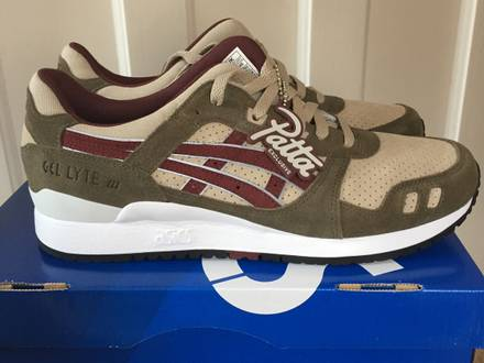 Asics x patta gl3 exclusive - photo 1/7