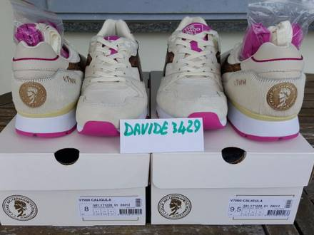 THE GOOD WILL OUT X <strong>DIADORA</strong> V7000 CALIGULA OFF-WHITE PINK EU 42 44 US 8,5 10 - photo 1/5
