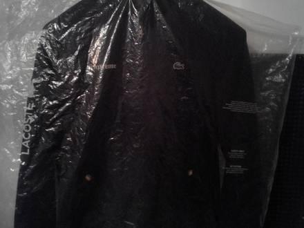 Supreme x Lacoste Harrington Jacket - Black - Size M - DSWT - photo 1/7