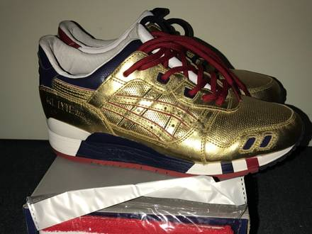 Asics Gel Lyte III Ronnie Fieg Gold - photo 1/5