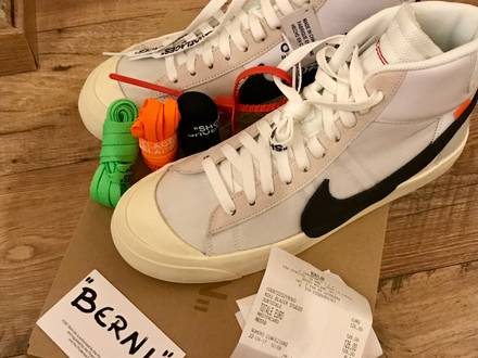 Nike X off white blazer mid - photo 1/6