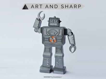 MADROBOT 3D by Artandsharp - photo 1/5