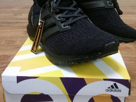 Adidas Ultra Boost 3.0 LTD Triple Black - photo 1/5