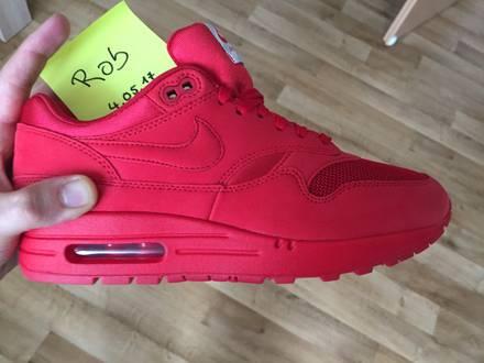 Nike Air Max 1 Premium University RED Tonal Pack US7/EU40 - photo 1/5