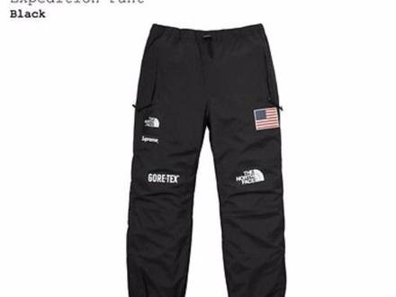 SUPREME X THE NORTH FACE TRANSANTARCTICA PANT BLACK - photo 1/6