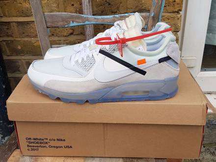 Nike X Off White AIR MAX 90 US13 DS new - photo 1/6