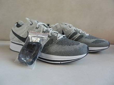 NIKE FLYKNIT TRAINER PALE GREY SIZE 11US - 159€ - photo 1/7