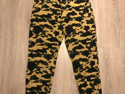 Bathing Ape Camo Jogger Pants - photo 1/5