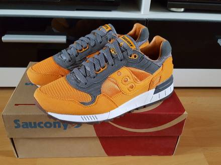 <strong>Saucony</strong> Shadow 5000 Solebox Orange US 7 - photo 1/5