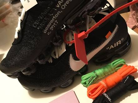 vapormax off white 9us - photo 1/5