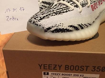 Adidas <strong>Yeezy</strong> Boost 350 <strong>Zebra</strong> - photo 1/5