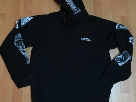 Supreme MC Escher Hoodie Black large / L - photo 1/5