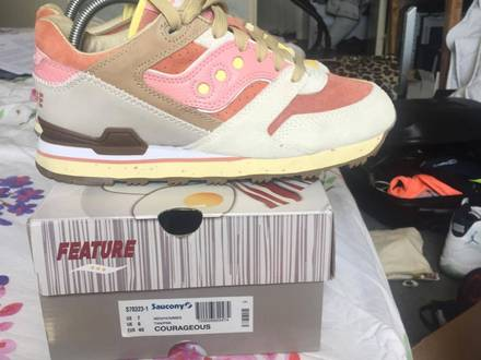 <strong>Saucony</strong> x Feature - Bacon & eggs - photo 1/5