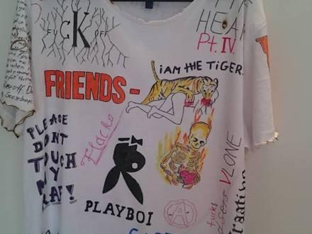 Customized Tshirt Large A$AP Vlone Supreme Vetements - photo 1/6