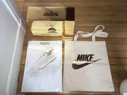 Nike Air Max 97 Metallic Gold Pack Off Spring N°54/97 size 10US-9UK-Eur44 - photo 1/6