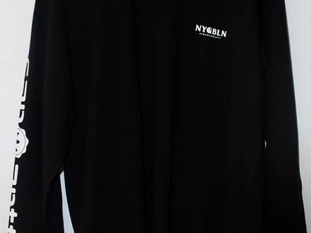 Carhartt WIP x Highsnobiety NEW Large Size L Long Sleeve T-Shirt Tee Black Box Logo White Hypebeast - photo 1/5