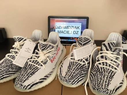 Adidas <strong>yeezy</strong> boost 350 v2 <strong>zebra</strong> US 8 - photo 1/5