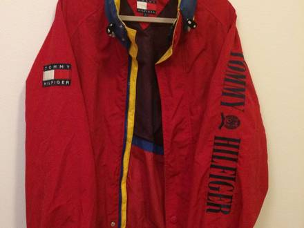 VTG RARE TOMMY HILFIGER SAILING JACKET - photo 1/5