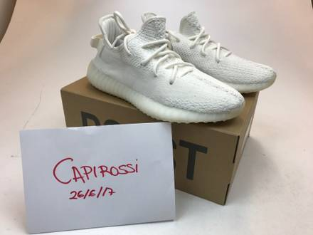 Adidas <strong>Yeezy</strong> boost <strong>350</strong> - <strong>Cream</strong> <strong>white</strong> 41 1/3 - 8US - 7,5UK - photo 1/5