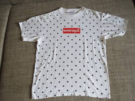 PADS Supreme NYC New York SS12 CDG <strong>Comme</strong> <strong>des</strong> <strong>Garcons</strong> Bogo Tee Box Logo sz S Small - photo 1/8
