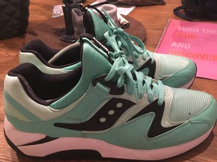 <strong>Saucony</strong> grid 9000 Mint/black - photo 1/6