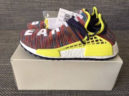 Pharrell williams x adidas nmd human race trail Multicolor US9 - photo 1/6