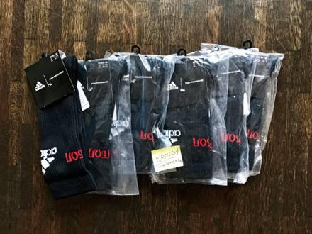 Gosha Rubchinskiy x Adidas Sport Socks M L Medium Large EU 39-42 / 43-46 Black Red White Bred - photo 1/5