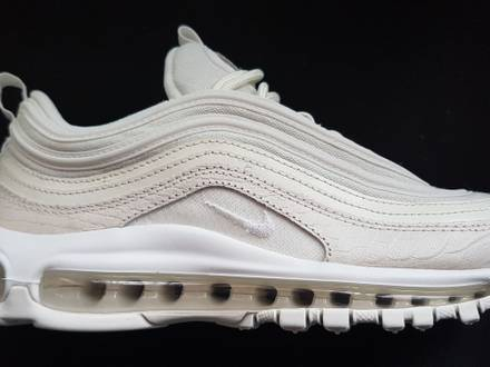 Air max 97 snakeskin triple white - photo 1/5