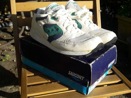 Vintage Saucony Challenge !Dead Stock! - photo 1/7