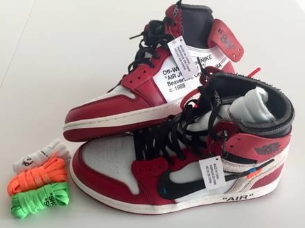 OW x Nike Air Jordan 1 - photo 1/8