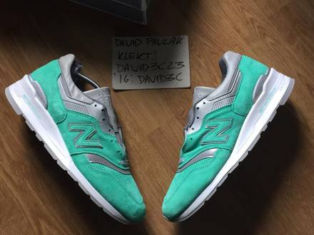 """New Balance M997 x Concepts 'City Rivalry Pack"""" Mint - photo 1/7"""