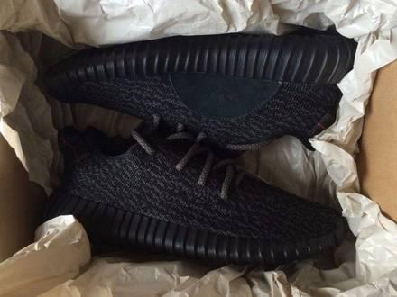 "Adidas Yeezy Boost 350 V2 x Kanye West ""Pirate Black 2.0"" Size 10.5 US - photo 1/7"