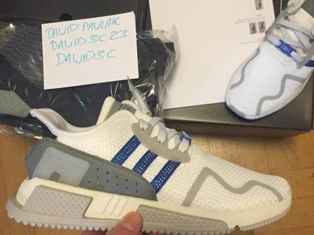 Adidas eqt cushion adv limited to 1991 pairs - photo 1/5