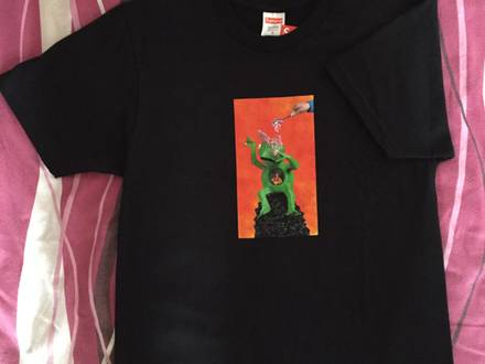 Supreme x Mike Hill Brains Tee - Black - Size M - DSWT - photo 1/5